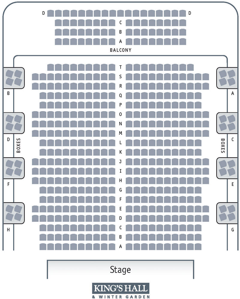 Kings Hall Seating plan